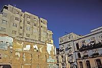 Old Havana Cuba Apartment Buildings Great Shot, Cuba, Republic of Cuba,