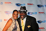 Felicia & Philip Boykin at Broadway - 2017 New Year's Eve Times Square Ball Drop at the Copacabana, New York City. (Photo by Sue Coflin/Max Photos)  suemax13@optonline.net