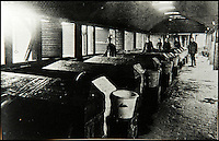 BNPS.co.uk (01202 558833)<br /> Pic: JanJarvis/BNPS<br /> <br /> The nitrating tanks of the gunpowder factory.<br /> <br /> A lot of bang for your buck...<br /> <br /> A former royal hunting lodge that went on to become a world-renowned gunpowder factory has exploded onto the property market.<br /> <br /> Eyeworth Lodge, in the picturesque surroundings of Fritham in the New Forest, was the perfect isolated place for the risky business that saw lots of men injured or even killed, but it is now a stunning country home for anyone who wants to escape to the country.<br /> <br /> The seven-bedroom home, which has eight acres of land, is on the market with Strutt &amp; Parker for &pound;4million.
