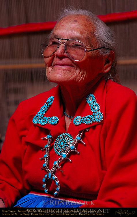 Susie Yazzie, Matriarch of the Navajo Todicheenie Clan, Monument Valley Navajo Tribal Park, Navajo Nation Reservation, Utah/Arizona Border