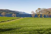 UK, Scotland,June 2012  Stunning views around the famous Loch Ness. No sign of the monster?...Photo Kees Metselaar