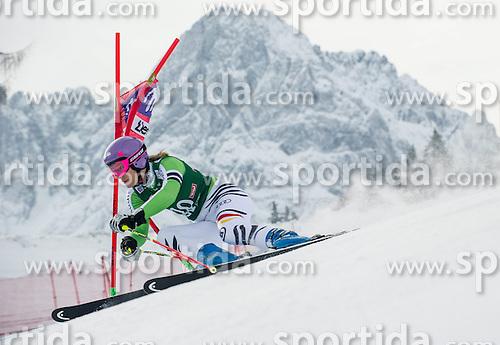 28.12.2013, Hochstein, Lienz, AUT, FIS Weltcup Ski Alpin, Lienz, Riesentorlauf, Damen, 1. Durchgang, im Bild Maria Hoefl-Riesch (GER) // during the 1st run of ladies giant slalom Lienz FIS Ski Alpine World Cup at Hochstein in Lienz, Austria on 2013-12-28, EXPA Pictures © 2013 PhotoCredit: EXPA/ Michael Gruber