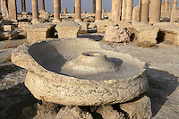 Bowl, baths of Diocletian, Palmyra, Syria, 292-303 AD Picture by Manuel Cohen