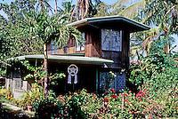 Philippines: Agoo--New house, Filipino style. Photo '82.