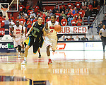 "Ole Miss' Derick Millinghaus (3) vs. Coastal Carolina's Anthony Raffa (2) at the C.M. ""Tad"" Smith Coliseum in Oxford, Miss. on Tuesday, November 13, 2012."