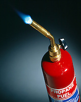 PROPANE TORCH AND FLAME - C3H8<br />