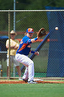 New York Mets first baseman Dash Winningham (35) during an Instructional League game against the Miami Marlins on September 29, 2016 at the Port St. Lucie Training Complex in Port St. Lucie, Florida.  (Mike Janes/Four Seam Images)