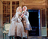 The Barber of Seville <br /> by Rossini <br /> English National Opera, London Coliseum, London, Great Britain <br /> Rehearsal <br /> 25th September 2015 <br /> <br /> <br /> Eleazar Rodriguez as Count Almaviva <br /> <br /> Kathryn Rudge as Rosina <br /> <br />  <br /> <br /> <br /> Photograph by Elliott Franks <br /> Image licensed to Elliott Franks Photography Services