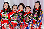 Yue Jiang, Vicky Jiang, Chunling Li, Rong Ling and Jenny Liuy at the St Brendan's College Chinese New Year celebrations in the Gleneagle Hotel on Tuesday night