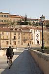 Roman Bridge, Salamanca, Castile and Leon, Spain