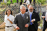 Prince Charles of Wales visits LeDroit Park, DC