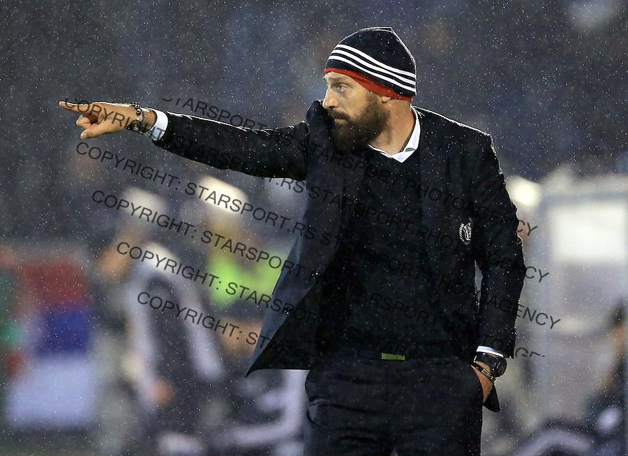 Fudbal Football Soocer<br /> UEFA Europe League <br /> Partizan v Besiktas<br /> Head coach Slaven Bilic<br /> Beograd, 23.09.2014.<br /> foto: Srdjan Stevanovic/Starsportphoto&copy;
