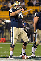 Pitt center Ryan Turnley. The Pittsburgh Panthers beat the UCONN Huskies 35-20 at Heinz field in Pittsburgh, Pennsylvania on October 26, 2011.