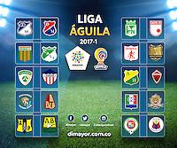 Liga Aguila I 2017 / Aguila League I 2017
