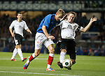 Dean Shiels and Chris Higgins