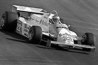 LAS VEGAS, NV - OCTOBER 17: Mario Andretti drives the Alfa Romeo 179D 02/Alfa 1260 during the Caesar's Palace Grand Prix FIA Formula One World Championship race on the temporary circuit in Las Vegas, Nevada, on October 17, 1981.