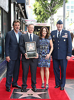 17 April 2017 - Hollywood, California - Joe Mantegna, Gary Sinise, Patricia Heaton, USAF General Robin Rand. Gary Sinise Honored With Star On The Hollywood Walk Of Fame.<br /> CAP/ADM<br /> &copy;ADM/Capital Pictures