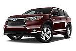Toyota Highlander Limited Hybrid SUV 2015