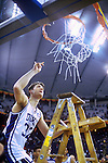 01 APR 1992:  Duke forward Christian Laettner (32) takes his piece of the net after the Blue Devils defeated Kansas 72-65 to win the NCAA Men's National Basketball Final Four championship held in Indianapolis, IN, at the RCA Dome. Laettner was named MVP for the tournament. Photo Copyright Rich Clarkson