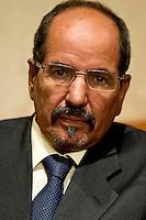 The President of the Sahrawi Arab Republic Mohamed Abdelaziz,