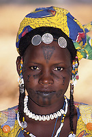 Muslim Fulani Portraits--a semi-nomadic people.