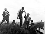 Beatles 1967 Paul McCartney films Magical Mystery Tour on Devon moors. ..© Chris Walter..