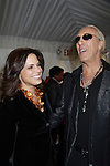 Soledad O'Brien and Dee Snider at the 2012 Skating with the Stars - a benefit gala for Figure Skating in Harlem celebrating 15 years on April 2, 2012 at Central Park's Wollman Rink, New York City, New York.  (Photo by Sue Coflin/Max Photos)