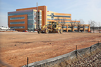 NWA Democrat-Gazette/DAVID GOTTSCHALK   Construction continues on Arkansas Children's Northwest Friday, February 10, 2017, near the intersection of South 56th Street and Watkins Avenue in Springdale. Arkansas Children's Northwest is scheduled to open in January 2018.