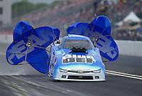 May 1, 2016; Baytown, TX, USA; NHRA top alcohol funny car driver Jay Payne during the Spring Nationals at Royal Purple Raceway. Mandatory Credit: Mark J. Rebilas-USA TODAY Sports
