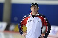 SPEED SKATING: CALGARY: Olympic Oval, 08-03-2015, ISU World Championships Allround, Coach Jillert Anema, ©foto Martin de Jong