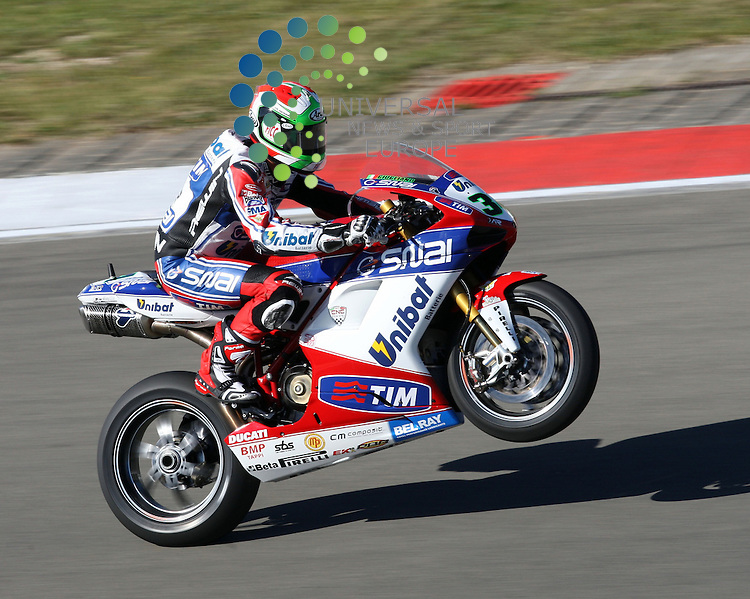 ENI FIM Superbike World Championship, Nuerburgring 07.-09.09.2012.DAVIDE GIUGLIANO (I#34) ALTHEA RACING...Picture: Hasan Bratic/Universal News And Sport (Europe) 9 September 2012