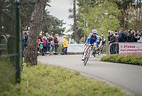 Tom Boonen (BEL/Quick-Step Floors) leading the Tom Boonen farewell race/criterium 'Tom Says Thanks!' in Mol/Belgium