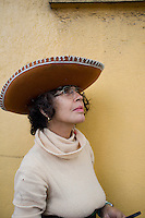 Woman in the Escandon.  Mexico City