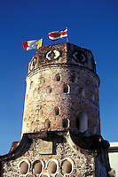 El Fortin, a Spanish colonial-era tower in Heredia, Costa Rica