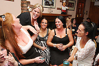 3/10/2010. Traveler girls are pictured in the bar at Haydons Hotel. The only Hotel in Ballinasloe that serves travelers alcohol. Picture James Horan