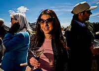 LEXINGTON, KENTUCKY - APR 07: Scenes on opening day at Keeneland Race Course on April 7, 2017 in Lexington, Kentucky. (Photo by Scott Serio/Eclipse Sportswire/Getty Images)