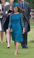 Pippa Middleton, Prince William & Harry attend Lady Laura Marsham & James Meade wedding