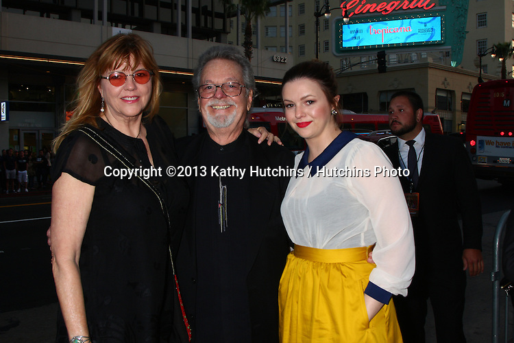 "LOS ANGELES - APR 29:  Amber Tamblyn, with her mom and dad (Russ Tamblyn) arrives at the ""Arrested Development"" Los Angeles Premiere at the Chinese Theater on April 29, 2013 in Los Angeles, CA"