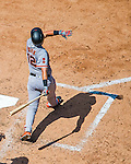 7 August 2016: San Francisco Giants infielder Joe Panik in action against the Washington Nationals at Nationals Park in Washington, DC. The Nationals shut out the Giants 1-0 to take the rubber match of their 3-game series. Mandatory Credit: Ed Wolfstein Photo *** RAW (NEF) Image File Available ***
