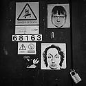 London, UK. 04.04.2015. Photofit street art, East London. Photograph © Jane Hobson.
