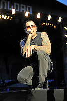 JUN 13 Avenged Sevenfold performing at Download Festival