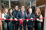 01.10.2011 Austin Reed opens new store at The Mall, Cribbs Causeway, Bristol. Cutting the ribbon on the new store are (left to right): Aurelija Markeviciute, Parivash Taheran, Vytautas Lenkauskas, Cameron McKay, Chris Garrett and Helen McDevitt..