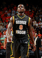 CHARLOTTESVILLE, VA- DECEMBER 6: Bryon Allen #0 of the George Mason Patriots during the game on December 6, 2011 against the Virginia Cavaliers at the John Paul Jones Arena in Charlottesville, Virginia. Virginia defeated George Mason 68-48. (Photo by Andrew Shurtleff/Getty Images) *** Local Caption *** Bryon Allen