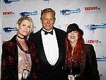 As The World Turns' Scott Bryce and wife and singer Jodi Stevens pose with Jane Elissa as they celebrate  New Year's Eve 2016 at The Copacabana, New York City, New York. (Photo by Sue Coflin/Max Photos)  suemax13@optonline.net