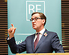 Resolution Foundation <br /> event in Whitehall, London, Great Britain <br /> 11th November 2014 <br /> <br /> Escaping low pay:<br /> How to break away from in-work poverty<br /> <br /> Alan Milburn<br /> Chair of the Social Mobility and Child Poverty Commission - keynote speech <br /> <br /> Photograph by Elliott Franks <br /> Image licensed to Elliott Franks Photography Services