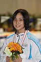Emu Higuchi, FEBRUARY 11, 2012 - Swimming : The 53rd Japan Swimming Championships (25m) Women's 400m Individual Medley Victory Ceremony at Tatsumi International Swimming Pool, Tokyo, Japan. (Photo by YUTAKA/AFLO SPORT) [1040]