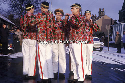 Grenoside Sword dance play performance Boxing Day England 1970s