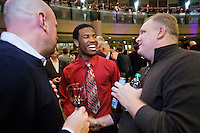 The 77th Annual Sports Star of the Year, presented by ROOT SPORTS, at Benaroya Hall in Seattle Wednesday, Jan. 27, 2012. The evening honors Northwest sports stars, carrying on an annual tradition started by Seattle Post-Intelligencer sports editor Royal Brougham in 1936. (Photography by Andy Rogers/Red Box Pictures)