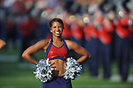 The Ole Miss' Rebelettes at Vaught-Hemingway Stadium in Oxford, Miss. on Saturday, September 1, 2012.