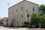 Historical Mill building on Main Street built in 1891 in Menomonee Falls Wisconsin USA